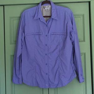 Columbia XL long sleeve sport shirt